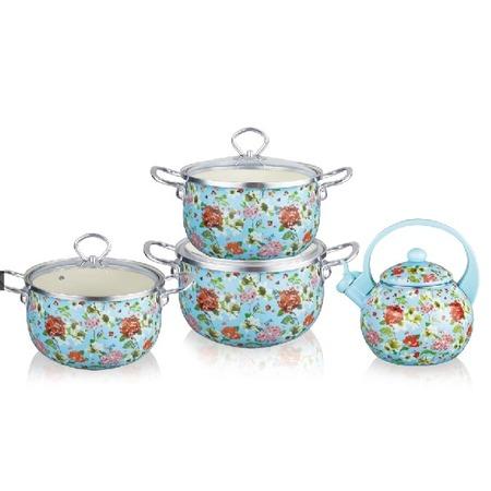 Купить Набор посуды Kelli KL-4460 «Флоксы»