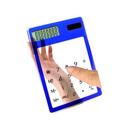 Купить Калькулятор сенсорный прозрачный 31 ВЕК E4118B. В ассортименте
