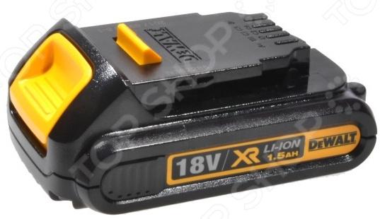 Батарея аккумуляторная для инструмента Pitatel для DeWalt DCB180/DCB181/DCB182/DCB183/DCB184/DCB185/DCB200, 1.5Ah, 18V 18v c 4000mah power tool battery for dewalt dcb204 dcb203 dcb182 dcb201 dcb200 dcb180 dcb181