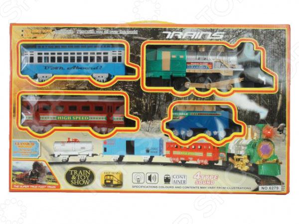 Zakazat.ru: Набор железной дороги игрушечный Yako 1724257