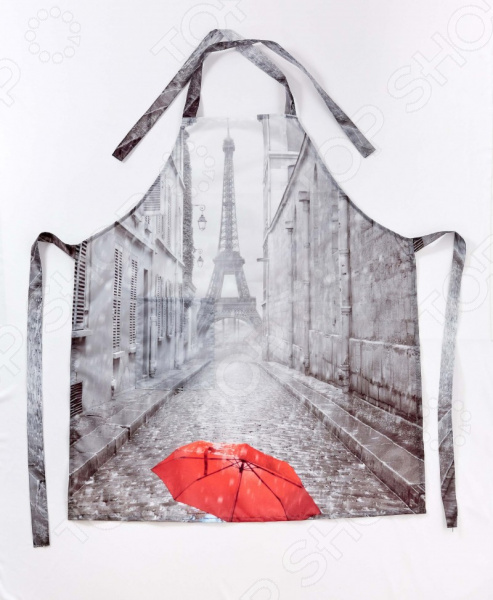 Фартук Сирень «Дождь в Париже»