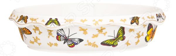 Блюдо-шубница Elan Gallery «Бабочки» 504095 elan gallery блюдо бабочки