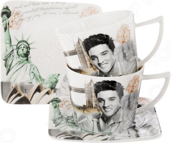 Набор чайных пар Patricia «Элвис»