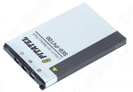 Аккумулятор для камеры Pitatel SEB-PV100 аккумуляторы для цифровых фото и видео камер casio np 80 np80 zs150 zs6 n1 zs100 n20 je10