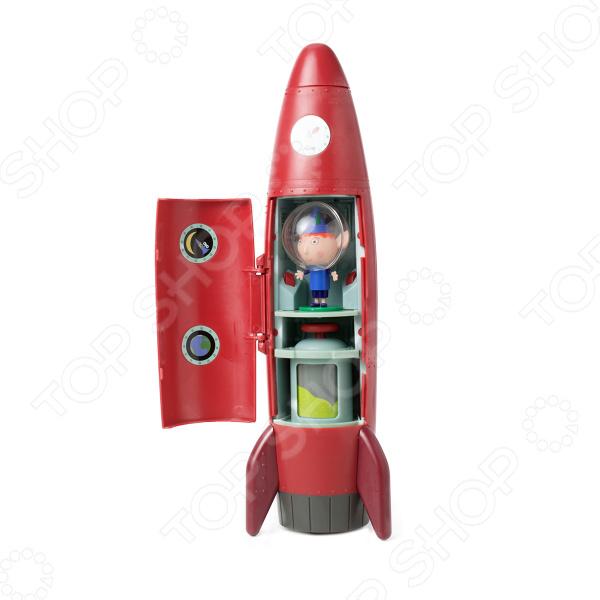 Игровой набор с фигуркой Ben & Holly's «Ракета со звуком»