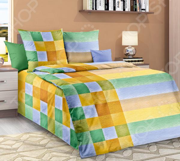 цена Комплект постельного белья Белиссимо «Акапулько» онлайн в 2017 году