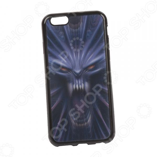 Чехол для iPhone 6/6S 3D «Демон»