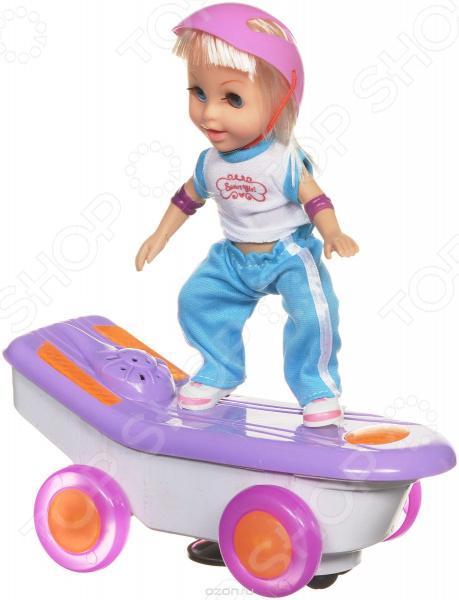 Кукла интерактивная Bradex «Молли на скейте». В ассортименте Кукла интерактивная Bradex «Молли на скейте» /