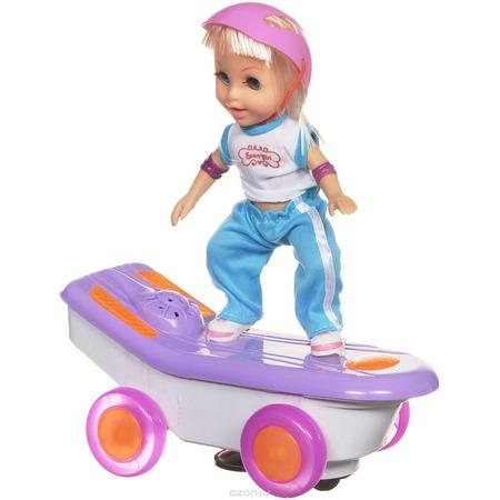 Купить Кукла интерактивная Bradex «Молли на скейте». В ассортименте