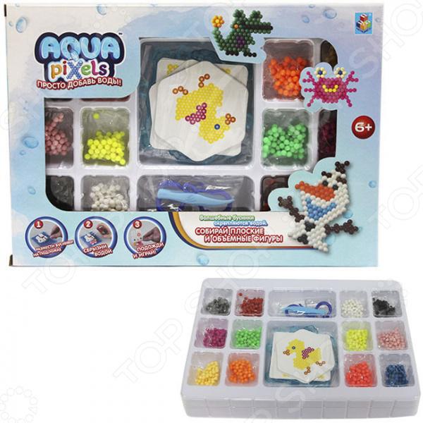 1 toy Aqua pixels Т11390