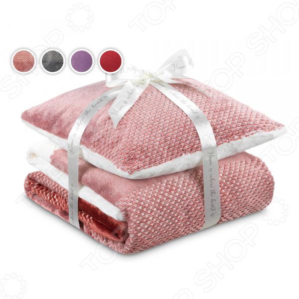 Комплект: подушка и плед Dormeo «Нежность»