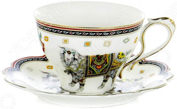 Чайная пара OlAff Jade Porcelain XXY-BHE-F4538 цена 2017