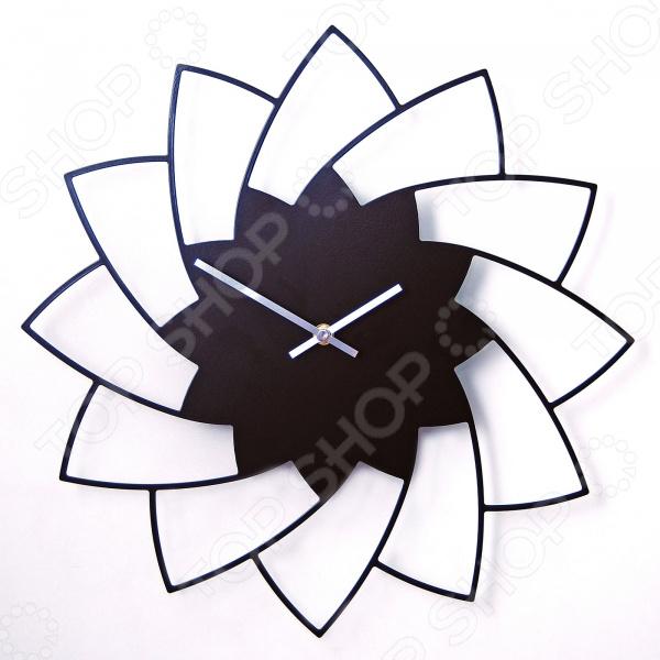 Часы настенные MEVOCLOCK «Хризантема» Э016