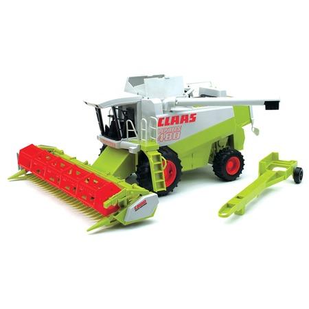 Купить Комбайн игрушечный Bruder Claas Lexion 480