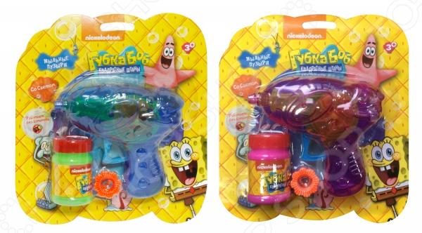 Игрушка для пускания мыльных пузырей 1 Toy «Губка Боб». В ассортименте