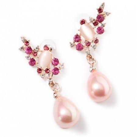 Купить Серьги Bradex «Пурпурный Соблазн»