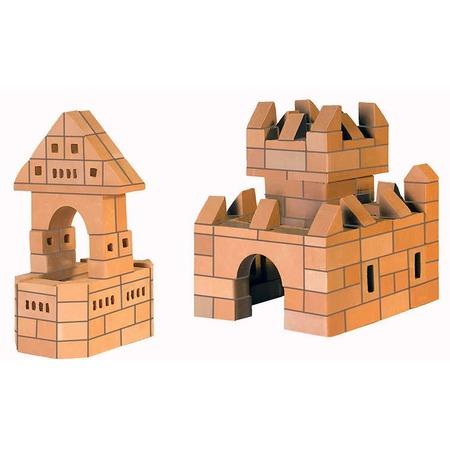 Купить Конструктор из глины Brick Master «Крепость 2 в 1»