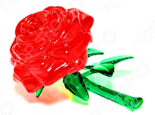 Кристальный пазл 3D Educational Line «Роза»