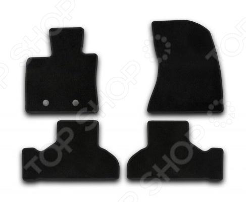 Комплект ковриков в салон автомобиля Klever BMW X5 F15 2013 Econom накладки на пороги bmw x5 iii f15 2013 carbon
