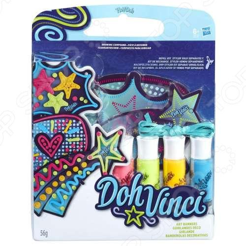 Набор пластилина игровой Hasbro Doh-Vinci «Подвесные украшения»