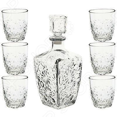 Набор для крепких напитков: штоф и стопки Bormioli Rocco B226060