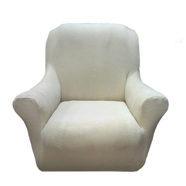 фото Чехол на кресло Riatex Venecia. Цвет: бежевый