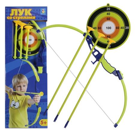 Купить Набор оружия: лук, стрелы и мишень 1 Toy Т11621