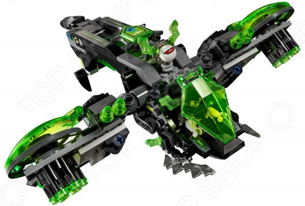 Конструктор для мальчика LEGO Nexo Knights «Неистовый бомбардировщик» lego lego nexo knights 70331 мэйси – абсолютная сила