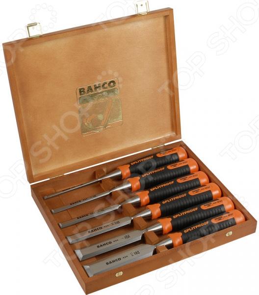 Набор стамесок Bahco 434-S6-EUR Profi - ergo