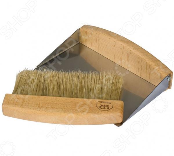 Комплект для уборки: щетка-сметка и совок Redecker 421050