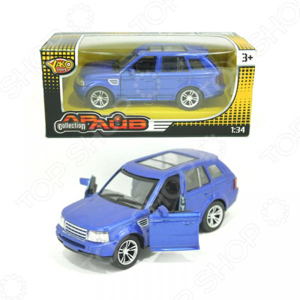 Модель автомобиля 1:32 инерционная Yako «Драйв» Collection 1724528. В ассортименте