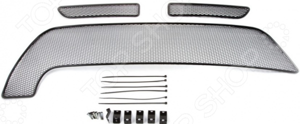 Комплект внешних сеток на бампер Arbori для Renault Duster, 2015. Цвет: черный мультиварка ves sk a13 b