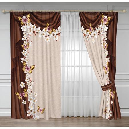 Купить Комплект штор ТамиТекс «Белый крокус»
