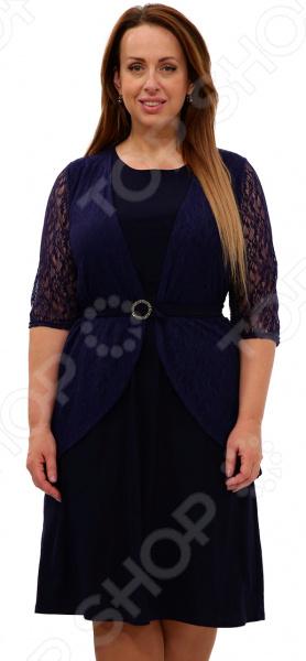 Платье Pretty Woman «Неповторимая». Цвет: темно-синий