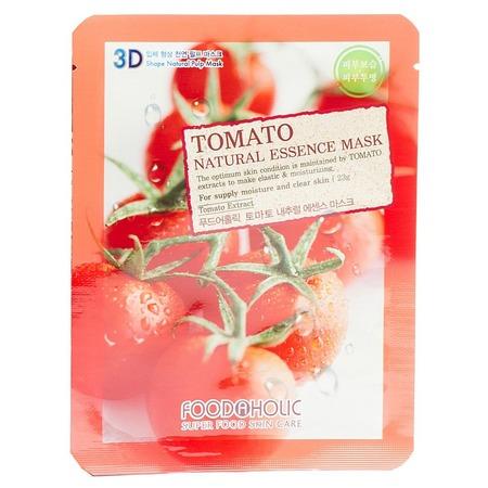 Купить Маска тканевая для лица FoodaHolic 3D с томатом