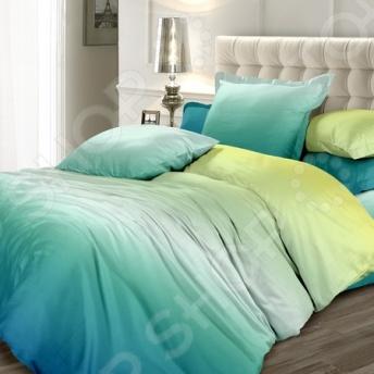 Комплект постельного белья Унисон «Малахитовый цветок»