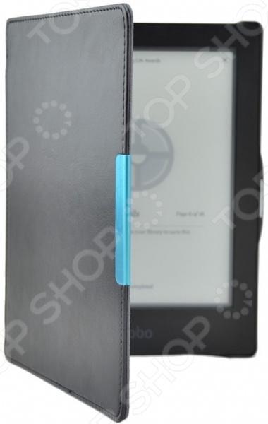 Функциональный и практичный чехол для электронной книги skinBOX для Kobo Aura HD станет отличным решением для ежедневных поездок на работу или длительных путешествий. Он обеспечивает не только легкую и комфортную переноску вашего девайса, но и его полную безопасность и сохранность. Чехол с плотной и прочной отделкой снаружи надежно защитит вашу электронную книгу от механических повреждений, царапин или грязи, а мягкая подкладка позволяет поддерживать экран в чистоте.  Главным преимуществом этой модели является то, что она выполнена из прочного, стойкого к трению и на разрыв материала искусственной кожи. Пластиковый каркас обеспечивает максимальную жесткость, прочность и надежность чехла. Стильный, лаконичный, но в тоже время простой дизайн станет приятным и весомым бонусом. Чехол отлично подойдет для электронной книги модели Kobo Aura HD.  Другие достоинства аксессуара  Девайс плотно фиксируется на жесткой пластиковой основе и не скользит за счет кромок.  Оставляет полный доступ к основным разъемам и функциональным кнопкам.  Внешняя сторона устойчива к бытовому истиранию.  Тип книжка обеспечивает быстрый и комфортный к планшету, облегчает навигацию, так как не требует каждый раз внимать устройство из чехла.  Чехол для электронной книги skinBOX для Kobo Aura HD надежная защита для вашего гаджета!