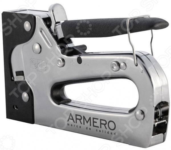 Степлер строительный Armero Тип 53 степлер ручной armero тип 53 140 6 14мм