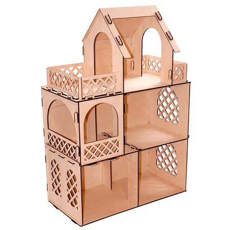 Купить Домик для куклы PAREMO «Я - Дизайнер!». Размер куклы: 30 см