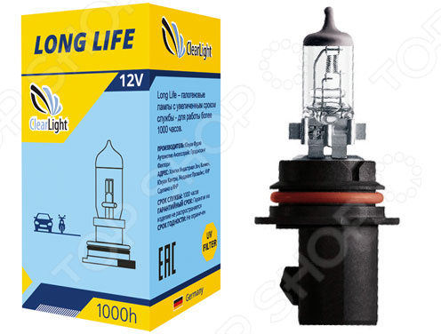 Автолампа галогенная ClearLight LongLife HB5 контроллер лампы биксеноновой clearlight hb5 9007