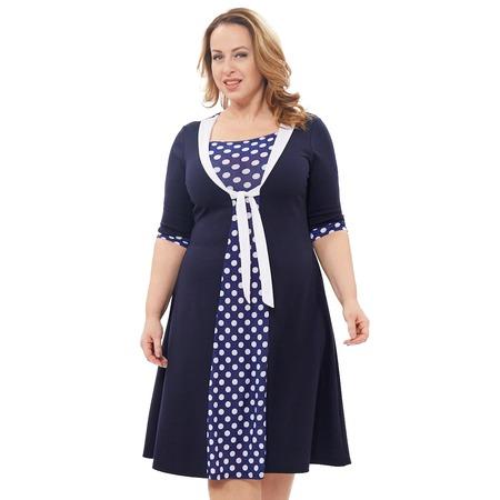 Купить Платье Laura Amatti «Магдалина». Цвет: синий