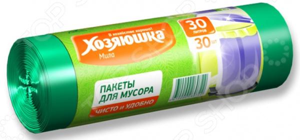 Пакеты для мусора Хозяюшка «Мила» 07002 пакеты для мусора curver 130л 10шт 1115293