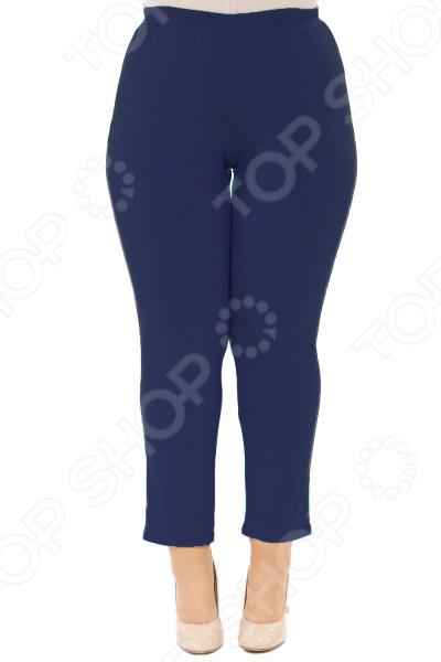 Брюки Laura Amatti «Первая леди». Цвет: темно-синий брюки джогеры laura kent klingel цвет темно серый