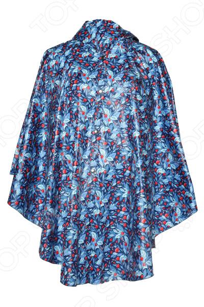 Пончо-дождевик Гранд Гром «Мисс универсальность». Цвет: синий