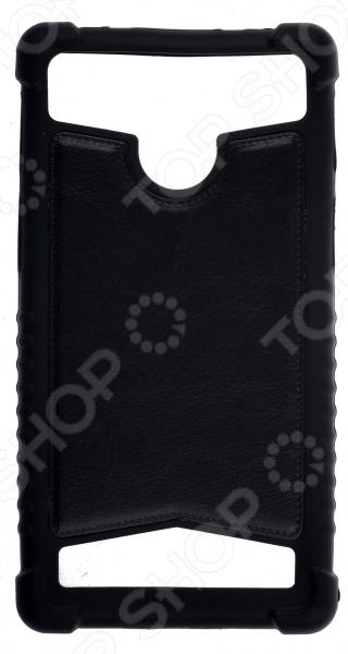 Бампер для телефона универсальный skinBOX 5,5 задний бампер на шевроле ланос