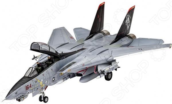 Сборная модель истребителя Revell «Грумман» F-14D Super Tomcat сборная модель истребителя revell f 15e eagle