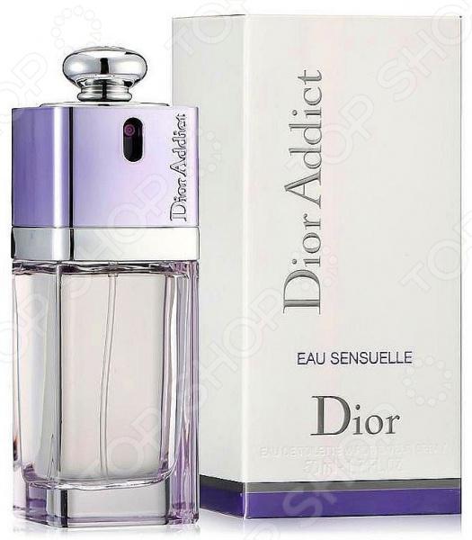 Туалетная вода для женщин Christian Dior Addict Eau Sensuelle, 50 мл туалетная вода christian dior hypnotic poison