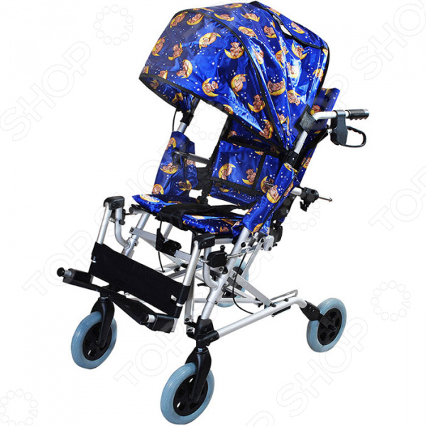 Коляска инвалидная детская Amrus Enterprises AMWC18FA-EL трость amrus enterprises amcо45