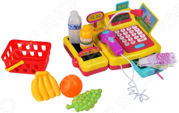 Касса игрушечная Peppa Pig с калькулятором