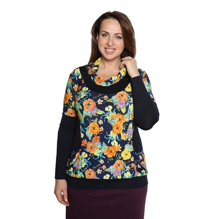 Купить Блуза Матекс «Игривая весна». Цвет: желтый